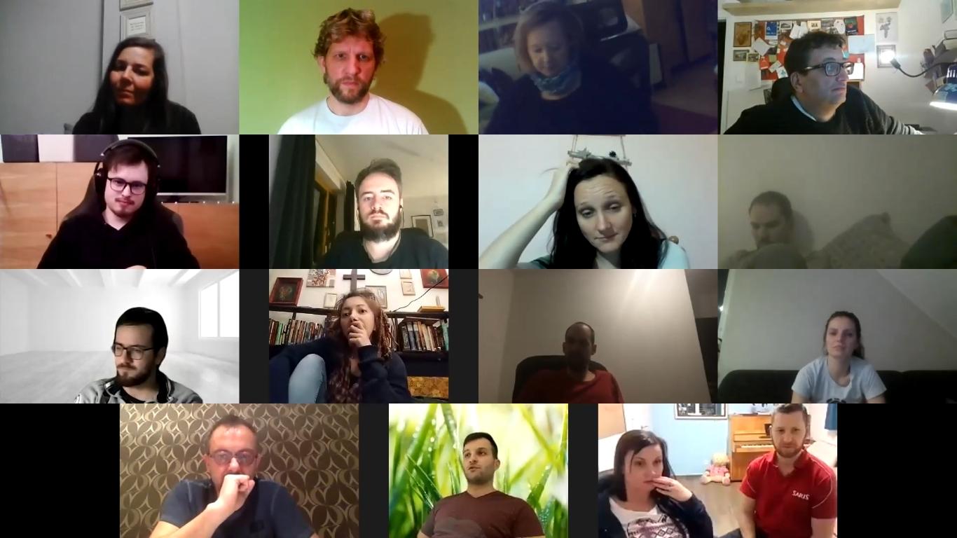 Stretnutie pracovníkov s dorastom 8.2.2021,ZOOM